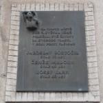 Pamětní deska připomínající oběti Plzeňského povstání,